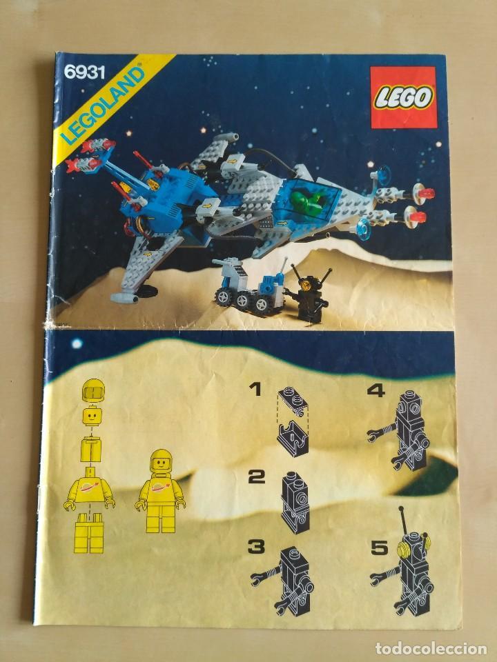 Juguetes antiguos: GRAN lote Catálogo e instrucciones LEGO - 40 ejemplares - años 80 y 90 - Foto 16 - 116585935