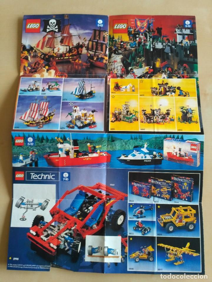 Juguetes antiguos: GRAN lote Catálogo e instrucciones LEGO - 40 ejemplares - años 80 y 90 - Foto 19 - 116585935