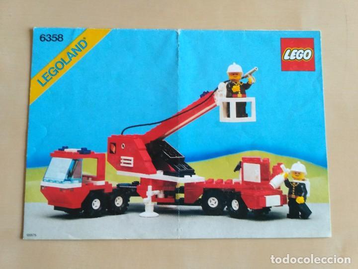 Juguetes antiguos: GRAN lote Catálogo e instrucciones LEGO - 40 ejemplares - años 80 y 90 - Foto 24 - 116585935