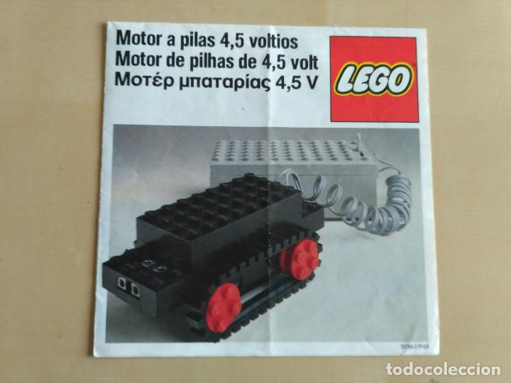 Juguetes antiguos: GRAN lote Catálogo e instrucciones LEGO - 40 ejemplares - años 80 y 90 - Foto 26 - 116585935