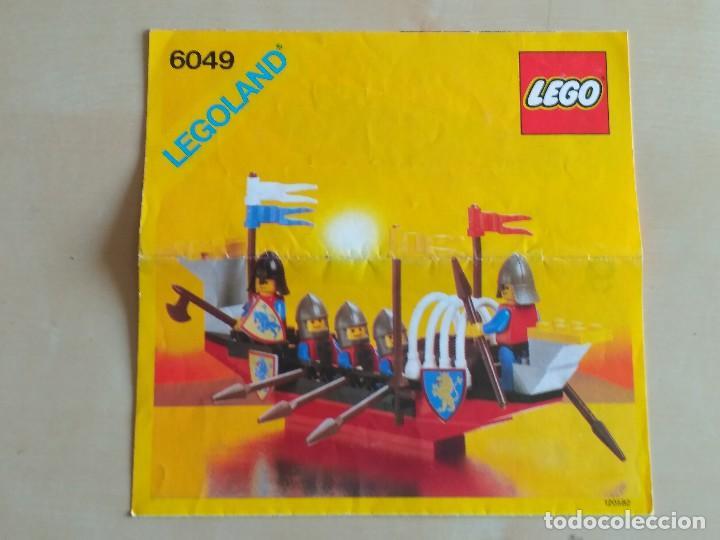 Juguetes antiguos: GRAN lote Catálogo e instrucciones LEGO - 40 ejemplares - años 80 y 90 - Foto 28 - 116585935