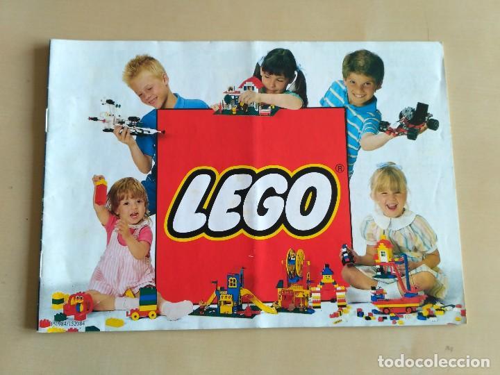 Juguetes antiguos: GRAN lote Catálogo e instrucciones LEGO - 40 ejemplares - años 80 y 90 - Foto 31 - 116585935