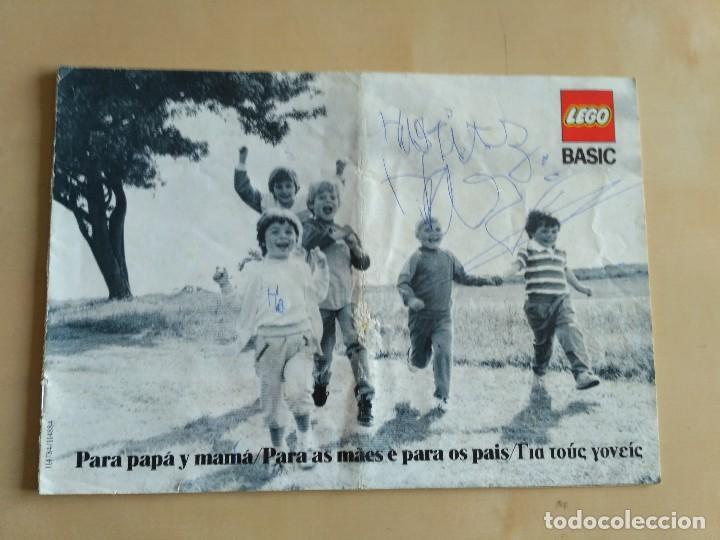 Juguetes antiguos: GRAN lote Catálogo e instrucciones LEGO - 40 ejemplares - años 80 y 90 - Foto 32 - 116585935