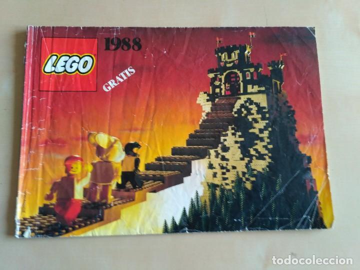 Juguetes antiguos: GRAN lote Catálogo e instrucciones LEGO - 40 ejemplares - años 80 y 90 - Foto 33 - 116585935