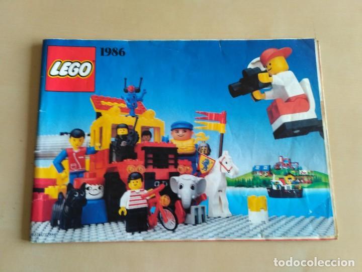 Juguetes antiguos: GRAN lote Catálogo e instrucciones LEGO - 40 ejemplares - años 80 y 90 - Foto 34 - 116585935