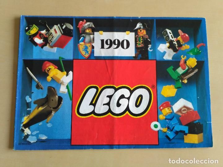 Juguetes antiguos: GRAN lote Catálogo e instrucciones LEGO - 40 ejemplares - años 80 y 90 - Foto 35 - 116585935
