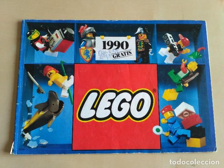 Juguetes antiguos: GRAN lote Catálogo e instrucciones LEGO - 40 ejemplares - años 80 y 90 - Foto 36 - 116585935