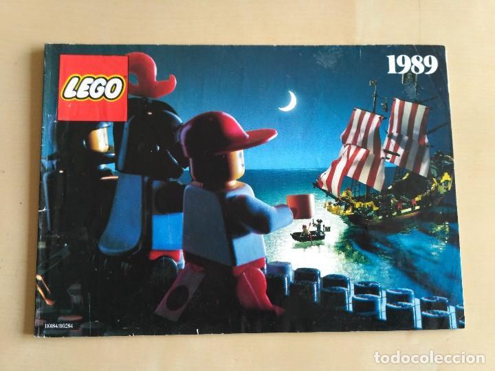 Juguetes antiguos: GRAN lote Catálogo e instrucciones LEGO - 40 ejemplares - años 80 y 90 - Foto 37 - 116585935