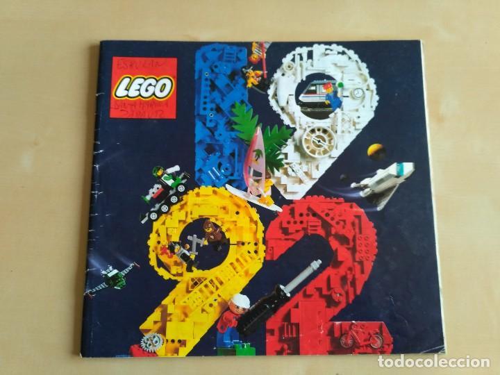 Juguetes antiguos: GRAN lote Catálogo e instrucciones LEGO - 40 ejemplares - años 80 y 90 - Foto 38 - 116585935