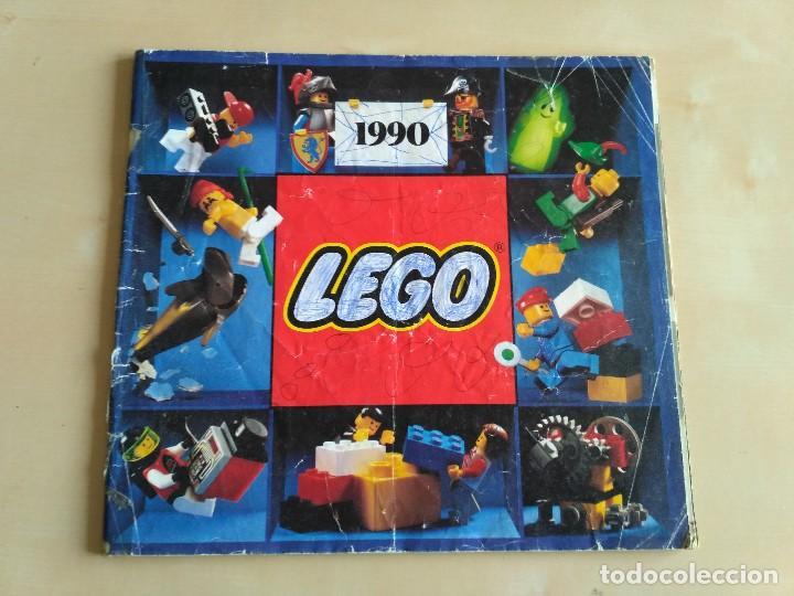 Juguetes antiguos: GRAN lote Catálogo e instrucciones LEGO - 40 ejemplares - años 80 y 90 - Foto 39 - 116585935