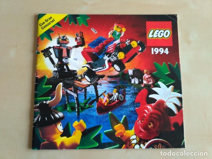 Juguetes antiguos: GRAN lote Catálogo e instrucciones LEGO - 40 ejemplares - años 80 y 90 - Foto 40 - 116585935
