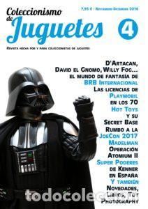 COLECCIONISMO DE JUGUETES NÚMERO 4 – NOVIEMBRE / DICIEMBRE 2016 (Juguetes - Catálogos y Revistas de Juguetes)