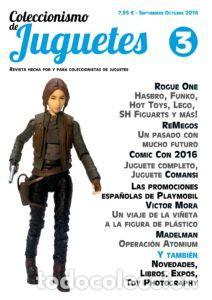 COLECCIONISMO DE JUGUETES NÚMERO 3 – SEPTIEMBRE / OCTUBRE 2016 (Juguetes - Catálogos y Revistas de Juguetes)