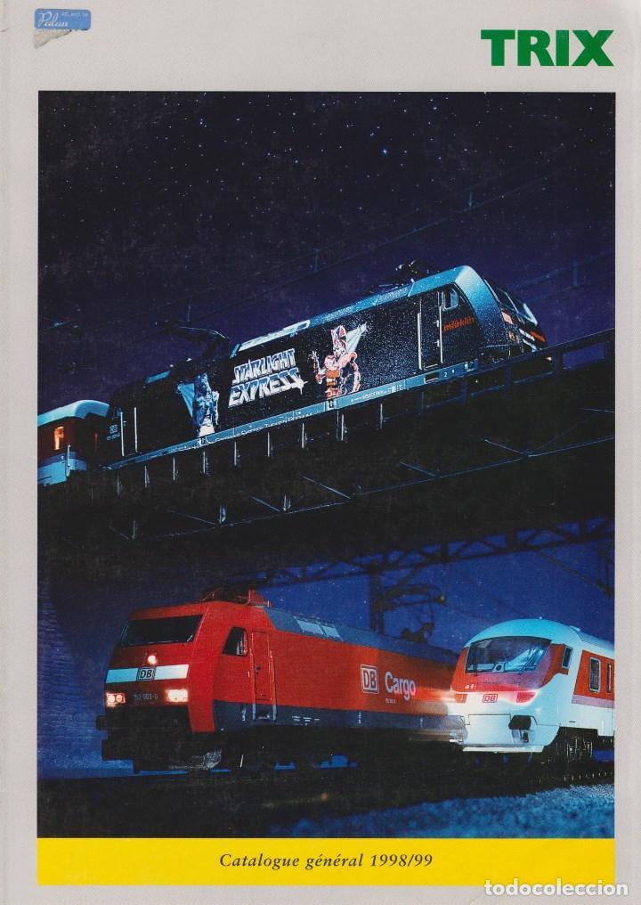 CATÁLOGO TRIX ESCALA N/H0 1998/1999 EDICIÓN FRANCESA (Juguetes - Catálogos y Revistas de Juguetes)