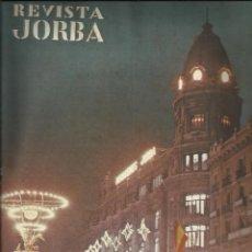 Juguetes antiguos: REVISTA JORBA - Nº 68 DICIEMBRE 1961 - REAMSA - PAYA- RICO- BORRAS - LEB - MECCANO. Lote 121093703