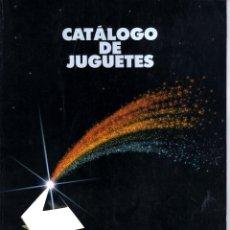 Juguetes antiguos: CATALOGO DE JUGUETES EL CORTE INGLES NAVIDAD 89.90. Lote 121519615