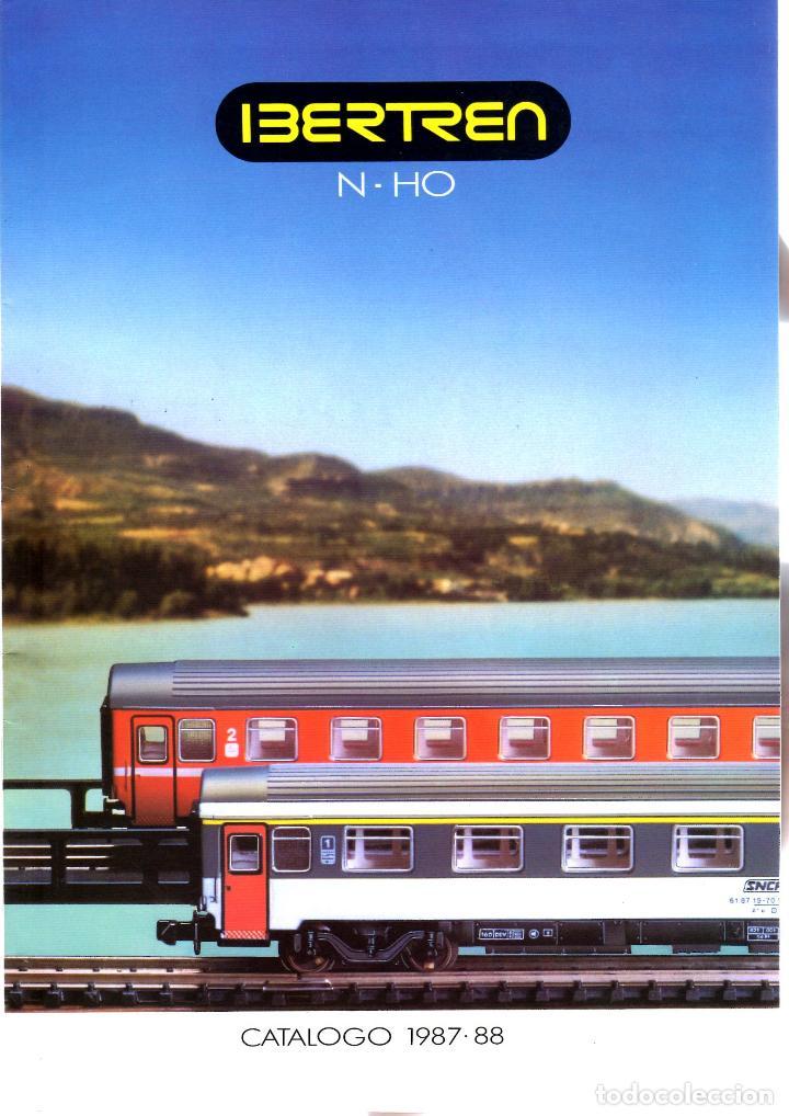 CATALOGO IBERTREN 1987-88 segunda mano