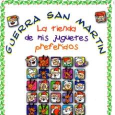 Juguetes antiguos: CATALOGO DE JUGUETES GUERRA SAN MARTIN. NAVIDAD 1992. CON PRECIOS. Lote 121531635