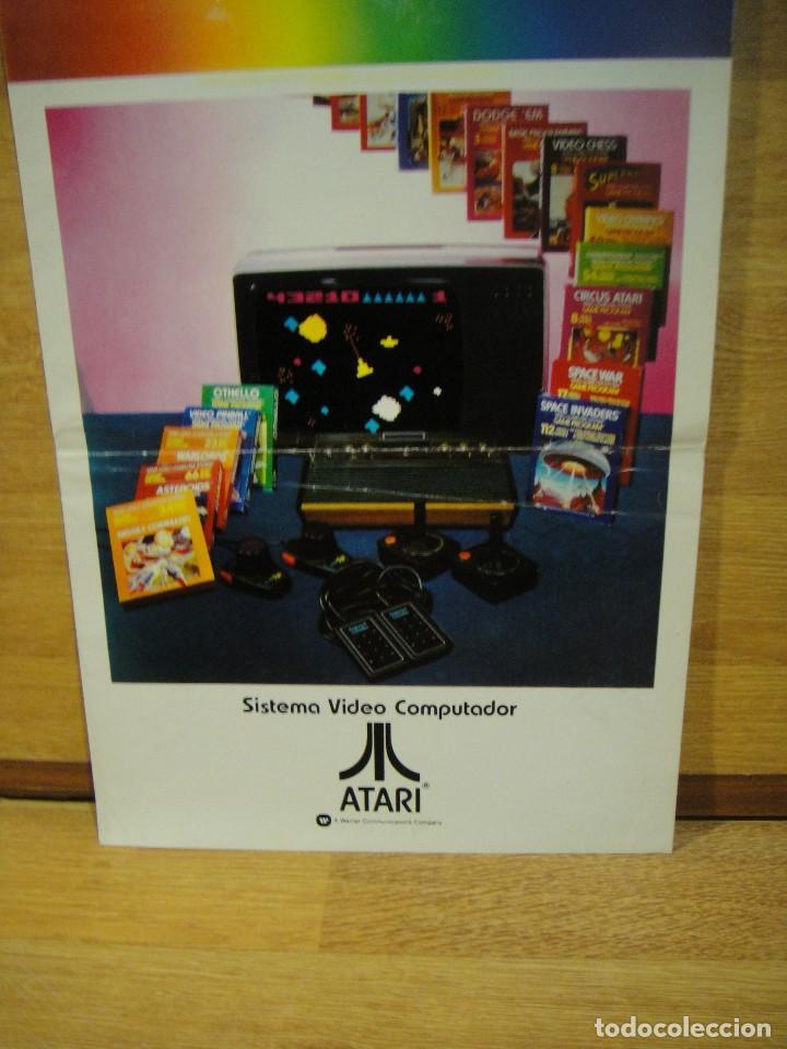 Catalogo Juegos Atari Ano 1981 Comprar Catalogos Y Revistas De