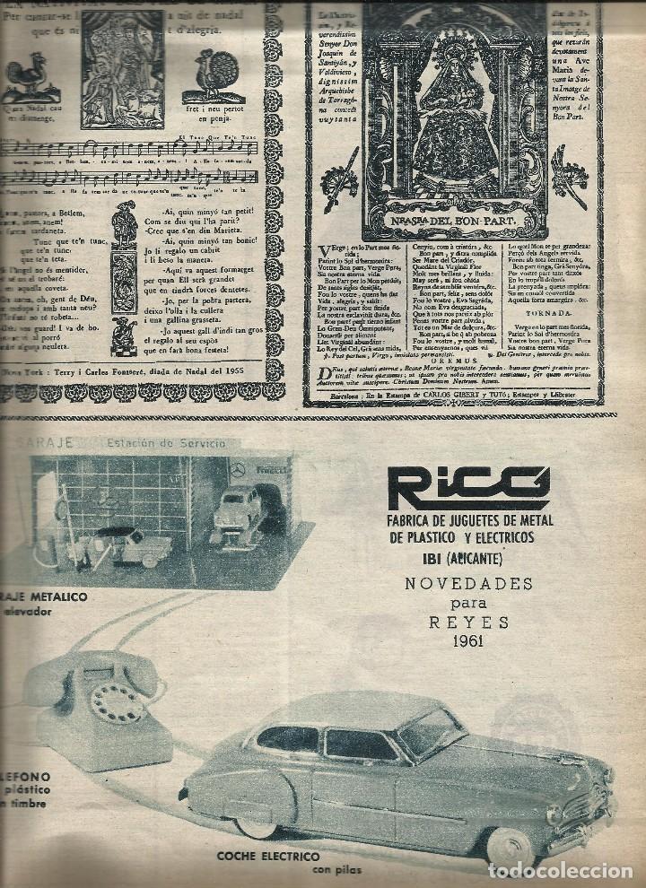 Juguetes antiguos: REVISTA JORBA nº 60- CON PUBLICIDAD JUGUETES PAYA RICO JECSAN - GOIGS - BESALU - a.1960 - Foto 3 - 122527831