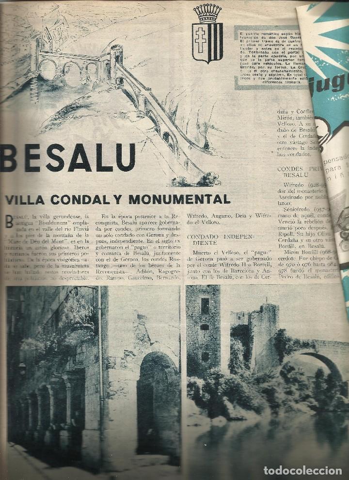 Juguetes antiguos: REVISTA JORBA nº 60- CON PUBLICIDAD JUGUETES PAYA RICO JECSAN - GOIGS - BESALU - a.1960 - Foto 5 - 122527831