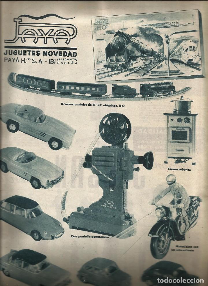 Juguetes antiguos: REVISTA JORBA nº 60- CON PUBLICIDAD JUGUETES PAYA RICO JECSAN - GOIGS - BESALU - a.1960 - Foto 6 - 122527831