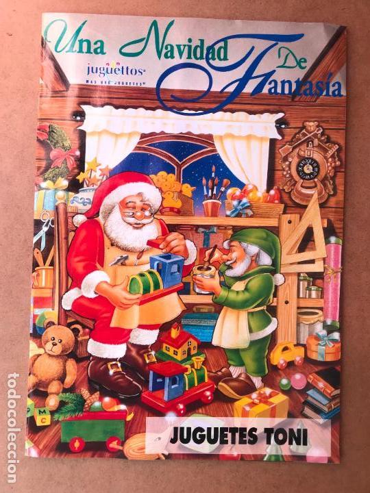 CATALOGO JUGUETES NAVIDAD JUGUETTOS AÑOS 90 - RARO (Juguetes - Catálogos y Revistas de Juguetes)