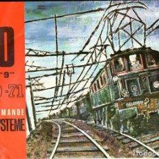Juguetes antiguos: CATÁLOGO JOUEF HO TELECOMMANDE BLOS SYSTEME 1970-71. Lote 123697659