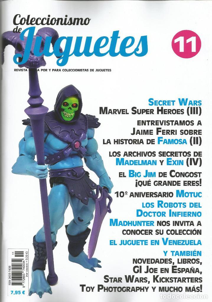 REVISTA COLECCIONISMO DE JUGUETES NÚMERO 11 (Juguetes - Catálogos y Revistas de Juguetes)