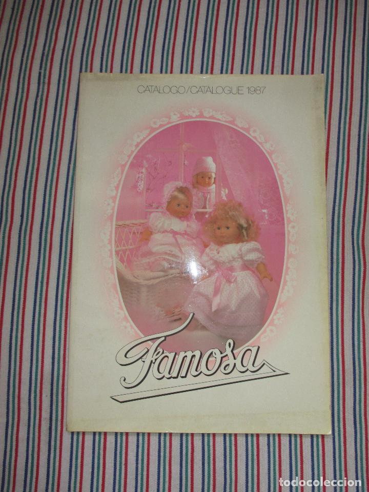 CATALOGO TIENDA DE FAMOSA AÑO 1987, NANCY, BARRIGUITAS, PIN Y PON (Juguetes - Catálogos y Revistas de Juguetes)