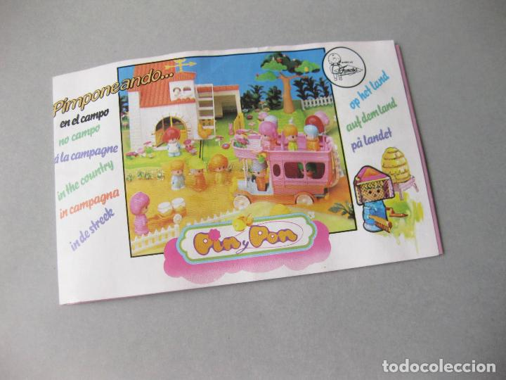 CATÁLOGO DESPLEGABLE DE PINYPON - JUGUETES - PIN Y PON - MUÑECAS FAMOSA (Juguetes - Catálogos y Revistas de Juguetes)