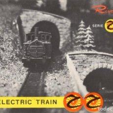 Juguetes antiguos: CATÁLOGO RIVAROSSI 1961/62 THE ELECTRIC TRAIN SERIE RR HO 1/87 - EN INGLÉS. Lote 128062555