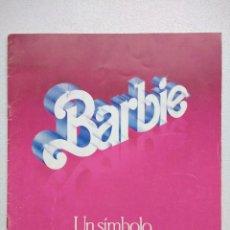 Juguetes antiguos: LIBRETO BARBIE CONGOST AÑO 1984. Lote 128276315