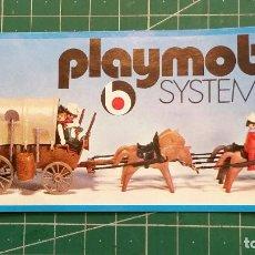 Juguetes antiguos: CATALOGO PLAYMOBIL SYSTEM AÑOS 70. Lote 128698847