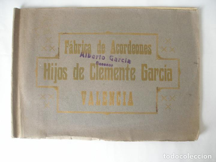 FÁBRICA ACORDEONES HIJOS DE CLEMENTE PRIMERA FÁBRICA ACORDEONES DE JUGUETE VALENCIA S.XIX - XX (Juguetes - Catálogos y Revistas de Juguetes)
