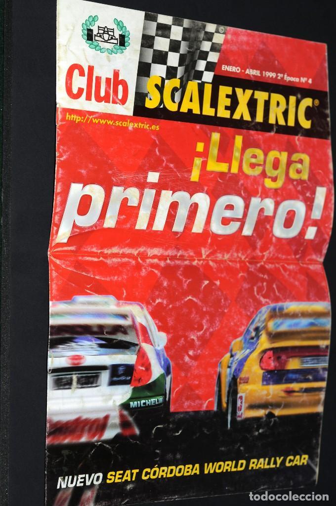 CLUB SCALEXTRIC. AÑO 1999. Nº 4 (Juguetes - Catálogos y Revistas de Juguetes)