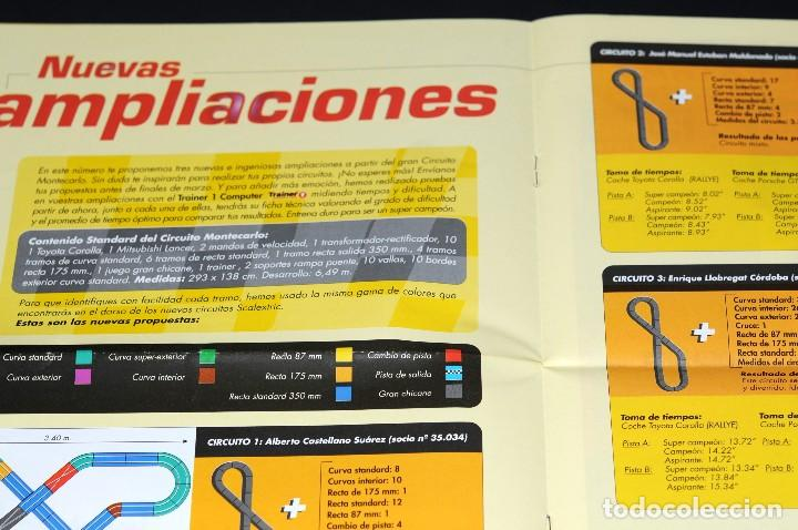 Juguetes antiguos: Club SCALEXTRIC. Año 1999. Nº 4 - Foto 3 - 129639959