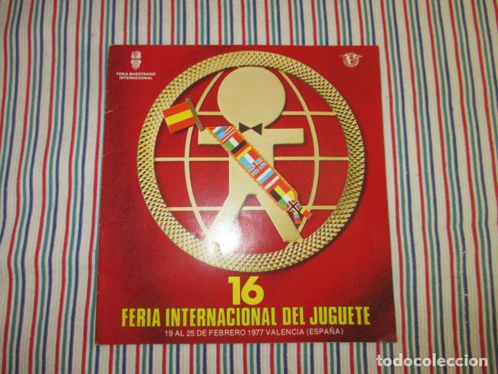 CATALOGO 16 FERIA INTERNACIONAL DEL JUGUETE (Juguetes - Catálogos y Revistas de Juguetes)