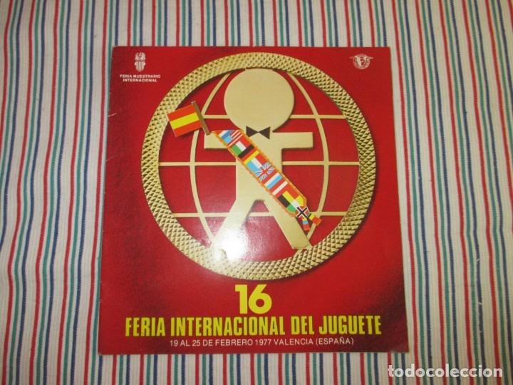 Juguetes antiguos: CATALOGO 16 FERIA INTERNACIONAL DEL JUGUETE - Foto 2 - 130317654