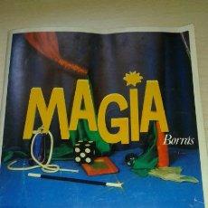 Juguetes antiguos: LIBRO INSTRUCCIONES MAGIA BORRAS AÑOS 80-- 125 TRUCOS. Lote 130980640
