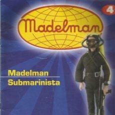 Juguetes antiguos: CATALOGO DE MADELMAN SUBMARINISTA 4. Lote 131381042