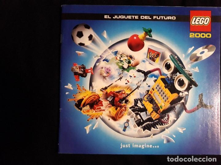 CATÁLOGO LEGO AÑO 2.000 - LÍNEA STAR WARS EPISODIO I EN MUY BUEN ESTADO (Juguetes - Catálogos y Revistas de Juguetes)