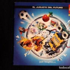 Juguetes antiguos: CATÁLOGO LEGO AÑO 2.000 - LÍNEA STAR WARS EPISODIO I EN MUY BUEN ESTADO. Lote 131443574