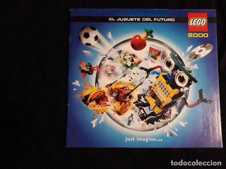 Juguetes antiguos: CATÁLOGO LEGO AÑO 2.000 - LÍNEA STAR WARS EPISODIO I EN MUY BUEN ESTADO - Foto 2 - 131443574