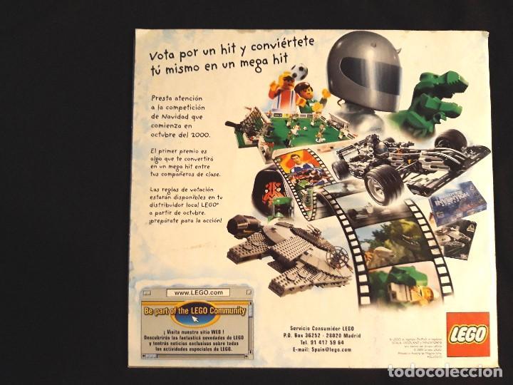 Juguetes antiguos: CATÁLOGO LEGO AÑO 2.000 - LÍNEA STAR WARS EPISODIO I EN MUY BUEN ESTADO - Foto 3 - 131443574