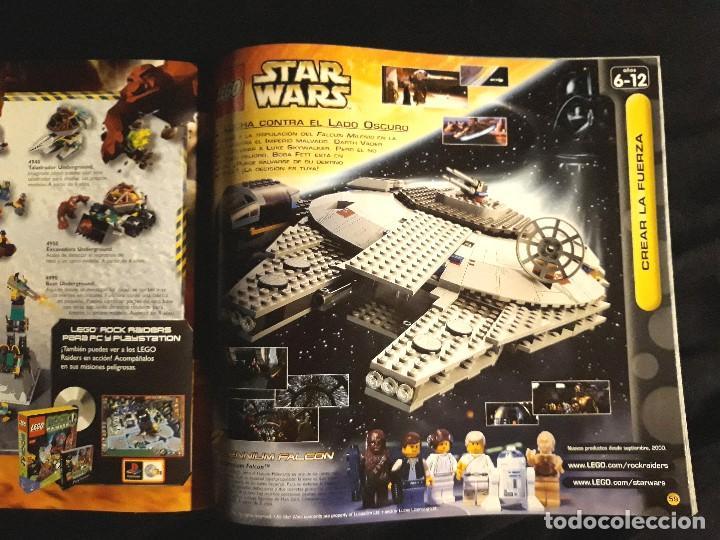 Juguetes antiguos: CATÁLOGO LEGO AÑO 2.000 - LÍNEA STAR WARS EPISODIO I EN MUY BUEN ESTADO - Foto 5 - 131443574