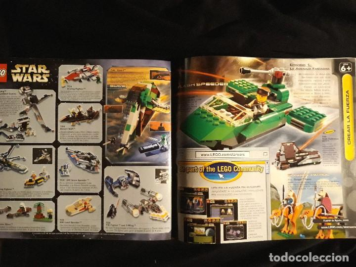 Juguetes antiguos: CATÁLOGO LEGO AÑO 2.000 - LÍNEA STAR WARS EPISODIO I EN MUY BUEN ESTADO - Foto 6 - 131443574