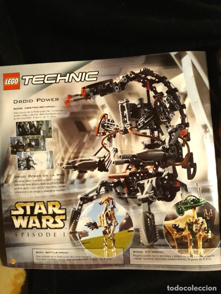 Juguetes antiguos: CATÁLOGO LEGO AÑO 2.000 - LÍNEA STAR WARS EPISODIO I EN MUY BUEN ESTADO - Foto 7 - 131443574