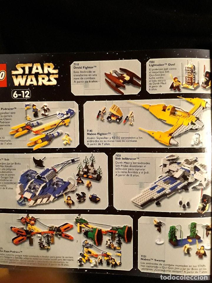 Juguetes antiguos: CATÁLOGO LEGO AÑO 2.000 - LÍNEA STAR WARS EPISODIO I EN MUY BUEN ESTADO - Foto 8 - 131443574