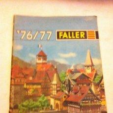 Juguetes antiguos: FALLER - 76/77 (INGLÉS-FRANCÉS-ALEMÁN). Lote 131697778